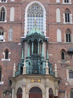 Krakow, Poland, Cracow, Travel, Historic, Church