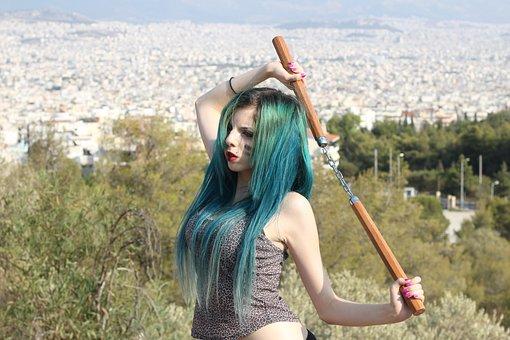 Anastasia Rousaki, Absinthia Stacy, Greek, Model