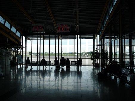 Airport, Terminal, Waiting Area, Passenger Lounge