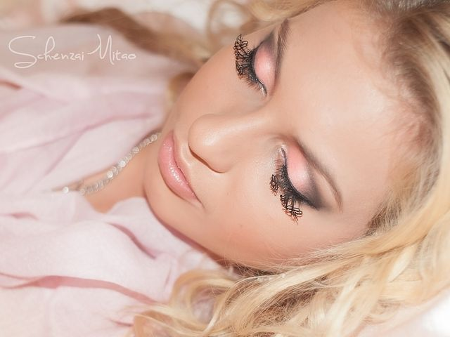 Portrait, Makeup, Pink, Pinkie, Blond, Blondie