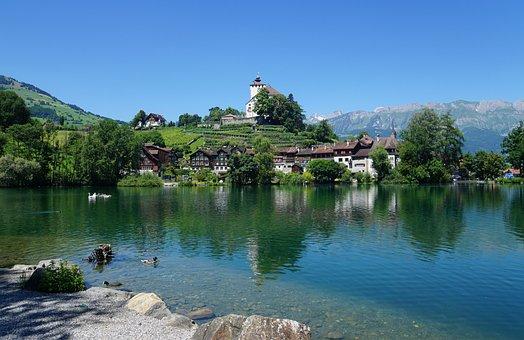 Book, Lake, Werdenbergersee, Sankt Gallen