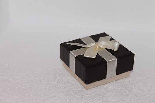 Gift, Gift Box, Box, Gift Packaging, Loop, Keepsake Box