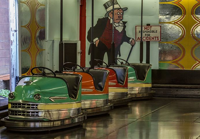 Bumper Car, Boardwalk, Entertainment, Amusement, Bumper