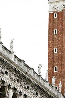 Piazza San Marco, Venice, Campanile, Markus Tower