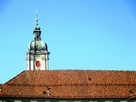 Architecture, Tile Roof, Abbey District, Cathedral