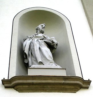Sculpture, Statue, Holy, Cathedral, Church