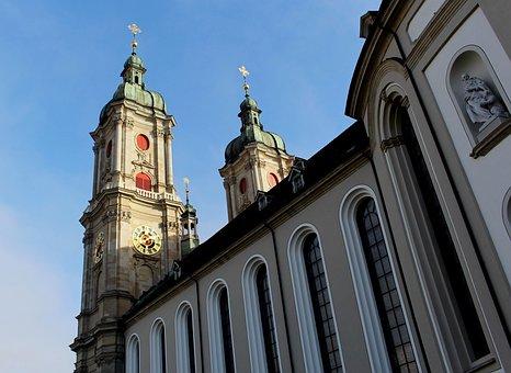 Cathedral, St Gallen, Collegiate Church, Late Baroque