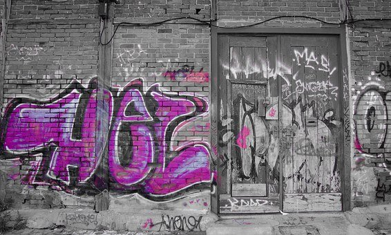 Graffiti, Wall, Paint, Graffiti Wall, Casual, Culture