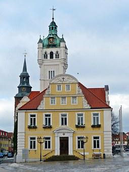 Verden Of All, Town Hall, Downtown, Old House