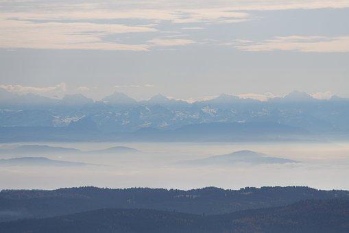 Alpine, Black Forest, Panorama, Feldberg, Switzerland