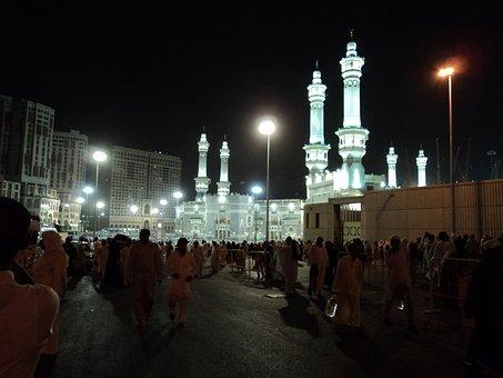 Mosque, Mecca, People, Muslim, Islam, Kaaba, Hajj, Holy