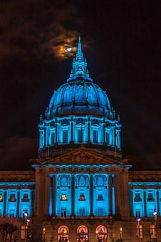 San Francisco, City Hall, California, City, Hall, San