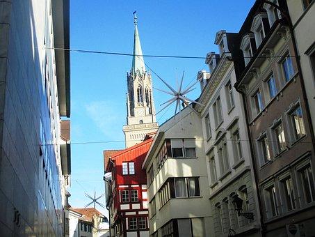 Laurenzenkirche, St Gallen, Church, Architecture