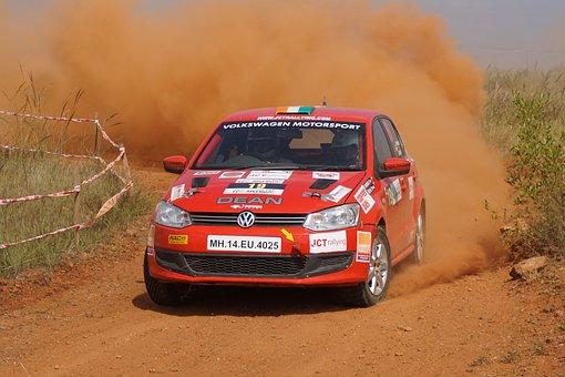 Rally, India, Chikmagalur, Mahindra, Car, Dirt, Sports