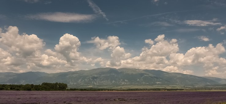 Field, Mountains, Near Kalofera