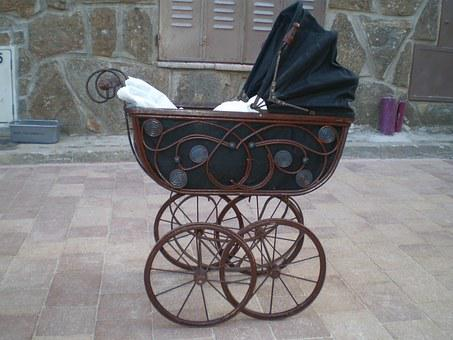 Truck, Baby, Car, Walk, Old Car For Baby