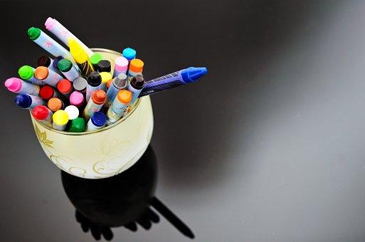 Wax, Crayons, Crayon, Paint, School, Need, Painter