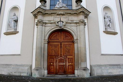Cathedral, Input, Portal, Architecture, Late Baroque