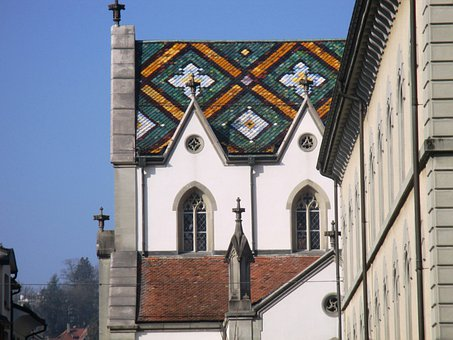 Church, St, Laurence, Roof, Architecture, Old Town