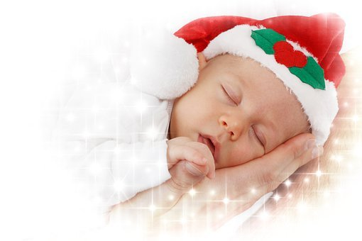 Adorable, Baby, Celebration, Child, Christmas, Santa