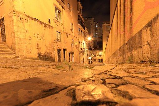 Portugal, Lisbon, Lisboa, Screetscene, Almada