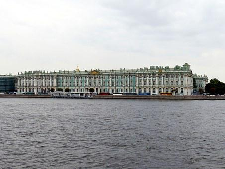Winter Palace, St Petersburg, Russia, Historically