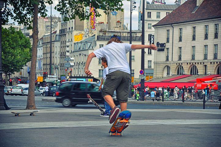 Skateboard, Adolescence, Urban Sport, Urban Activity