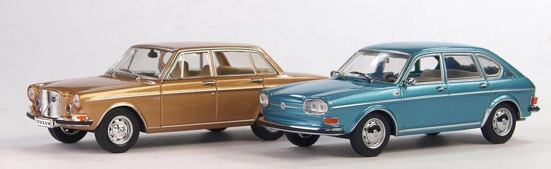 Volvo, Vw, Collect, Model, Oldtimer, Models, Model Cars
