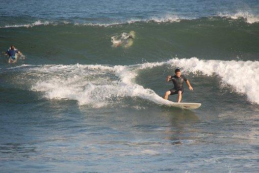 Surfer, Sea, Wave, Sport, Ocean, Beach, Outdoor, Summer