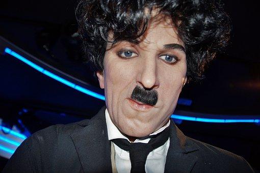 Charlie Chaplin, Waxwork, Wax Museum, Grevin, Wax
