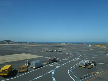 Airport, Airstrip, Plane, To Divert, Jeju Island
