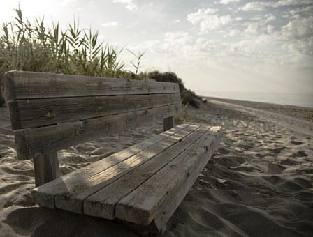 Bank, Rest, Beach, Peace, Breathing, Corner