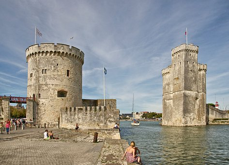 Charente-maritime, France, Monuments, Towers, Bay