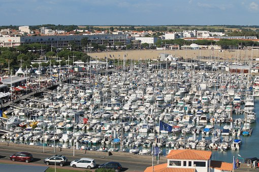 Royan, Charente-maritime, Port, Boats, Boat, France