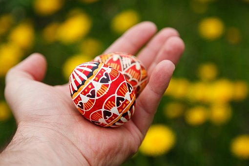 Colorful, Decorated, Decoration, Easter, Egg, Food