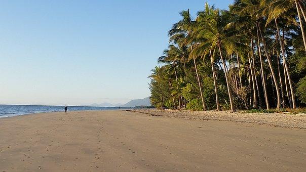 Five Mile Beach, Port Douglas, Australia, Beach, Sea