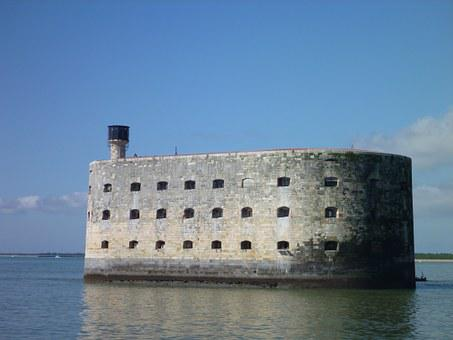Fort Boyard, Fortification, Charente-maritime, Water