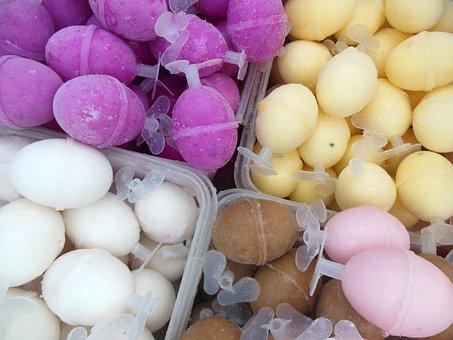 Melaka, Ice, Ice Egg, Pink, Dessert, Icing, Holiday