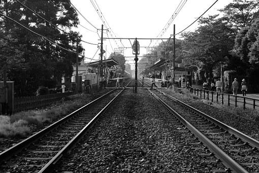 Kita-kamakura, Track, Evening, Journey, Local Lines