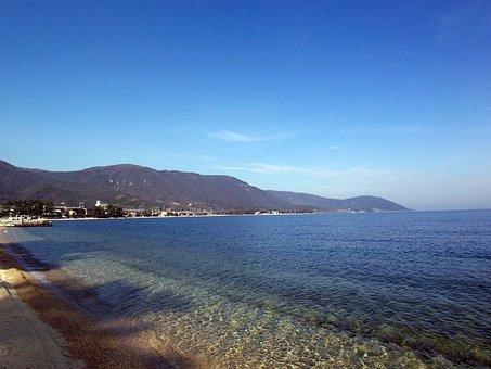 Shiga Prefecture Otsu Omi Maiko, Lake Biwa