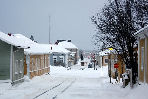 Raahe, Finland, Landscape, Scenic, Town, Buildings