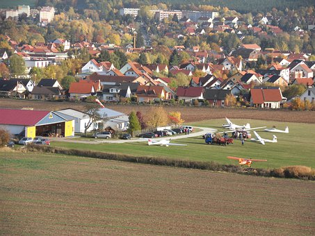 Bad Berka, Germany, Landscape, City, Buildings, Urban