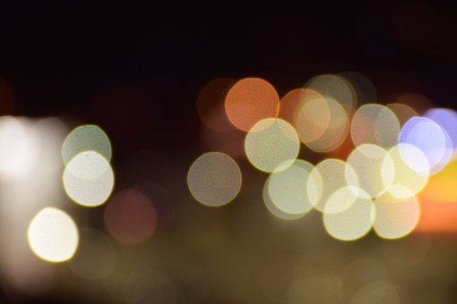 Bokeh, Lights, Color, Colorful, Night, Circle, Abstract