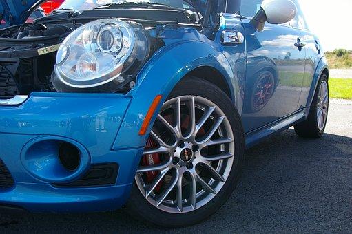 Minicooper, Car, Cool, Rim, Bonnet, Mirroring