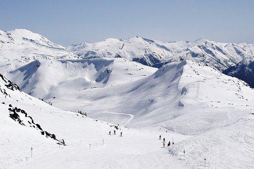 Blackcomb, Whistler, Mountain, Snow, Skiing
