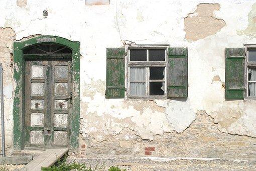 Upper Mill, Mühlbach, Altmühl Valley, House, Door
