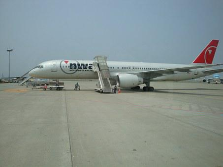 Plane, Airport, Airstrip