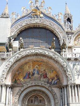 Venice, Taly, Rialto, Church, Cathedral, Architecture