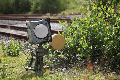 Signal Box, Old Worn Out, Railway Station, Wilderness