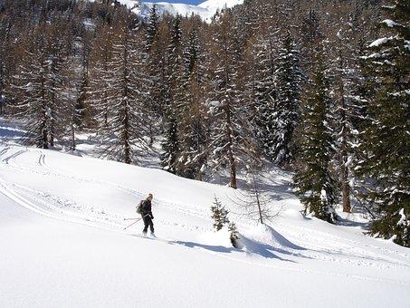 Backcountry Skiiing, Ski Mountaineering, Ski Touring